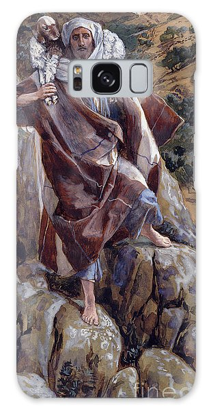 New Testament Galaxy Case - The Good Shepherd by Tissot