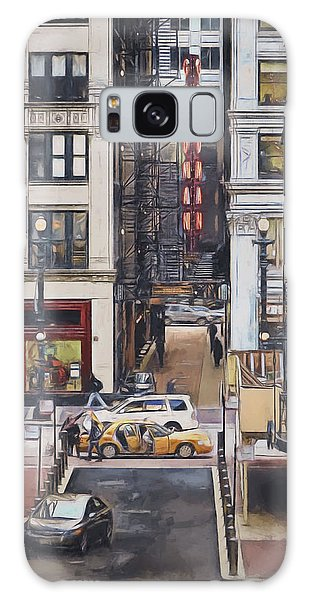 Downtown Galaxy Case - The Goodman From The Platform by Scott Norris