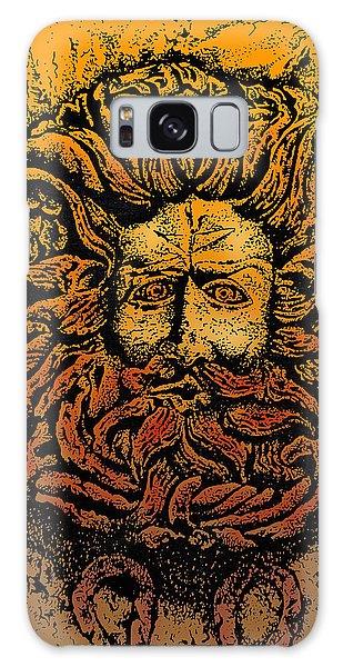 The Gorgon Man Celtic Snake Head Galaxy Case