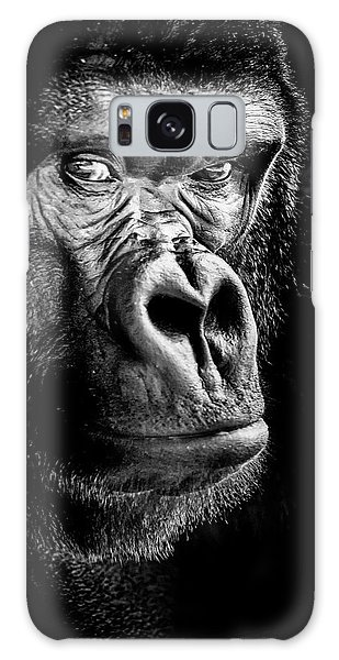 The Gorilla Large Canvas Art, Canvas Print, Large Art, Large Wall Decor, Home Decor Galaxy Case by David Millenheft