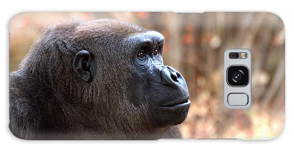 the Gorilla thinks Galaxy Case by Ruth Jolly
