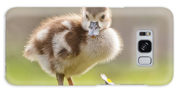 Gosling Galaxy Case - The Gosling And The Flower by Roeselien Raimond
