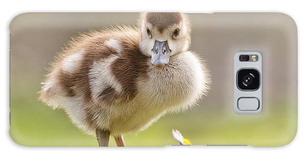 Goose Galaxy Case - The Gosling And The Flower by Roeselien Raimond