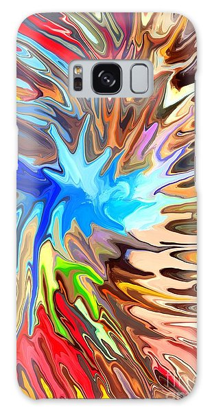 Reef Diving Galaxy Case - The Great Barrier Reef by Chris Butler