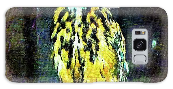 March Galaxy Case - Majestic Great Horned Owl Bubo Bubo by Mona Stut