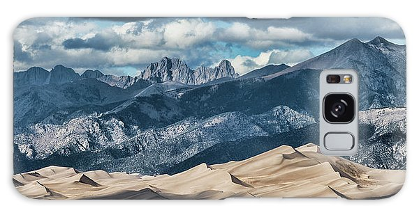 The Great Sand Dunes Panorama Galaxy Case