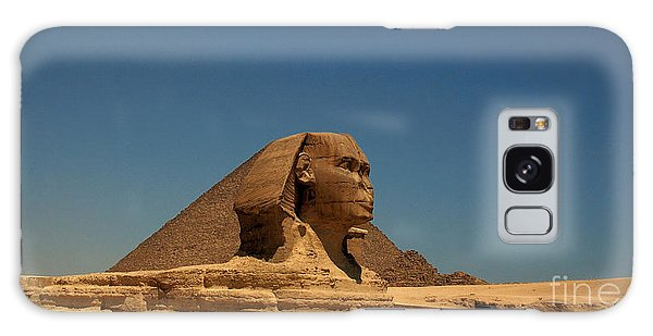 The Great Sphinx Of Giza 2 Galaxy Case