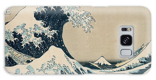 The Sky Galaxy Case - The Great Wave Of Kanagawa by Hokusai