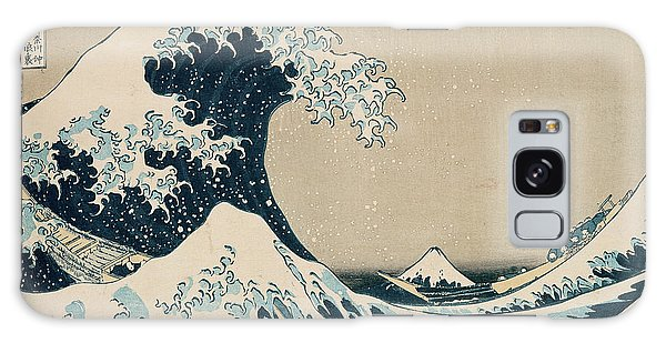 The Great Wave Of Kanagawa Galaxy Case by Hokusai