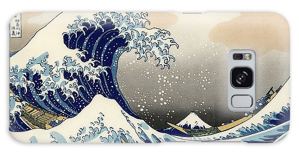 The Great Wave Off Kanagawa Galaxy Case