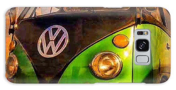 Vw Camper Galaxy Case - The Green And The Black #vw #camper by David Asch