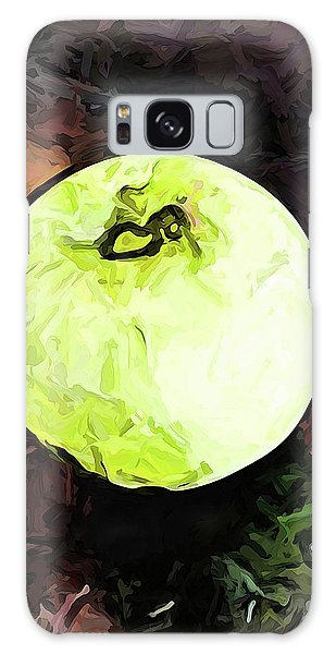 The Green Apple In The Bright Light Galaxy Case