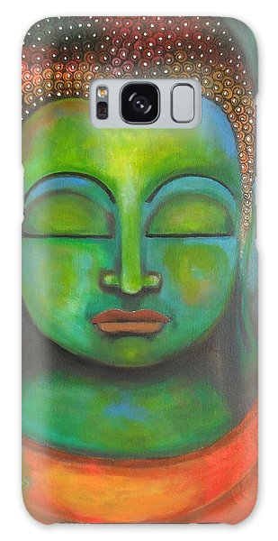The Green Buddha Galaxy Case