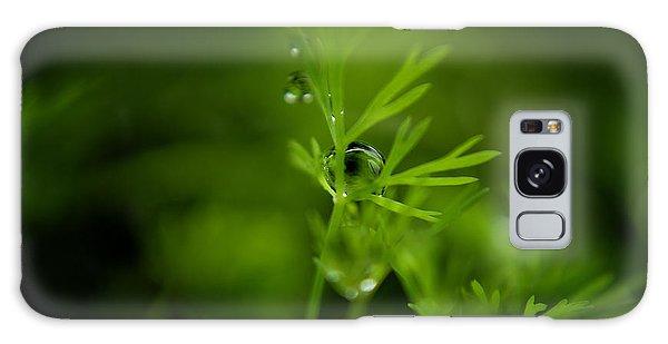 The Green Drop Galaxy Case