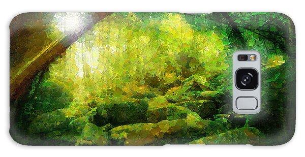 Landscapes Galaxy Case - The Green Forest - Da by Leonardo Digenio