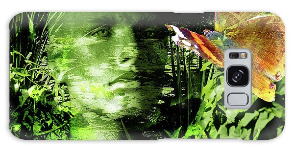 Galaxy Case featuring the photograph The Green Man by LemonArt Photography