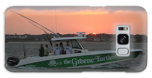 The Greene Turtle Power Boat Galaxy Case
