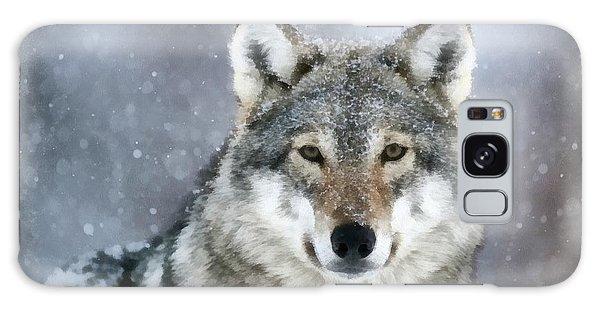 The Grey Wolf Galaxy Case
