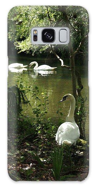The Guard Swan Galaxy Case