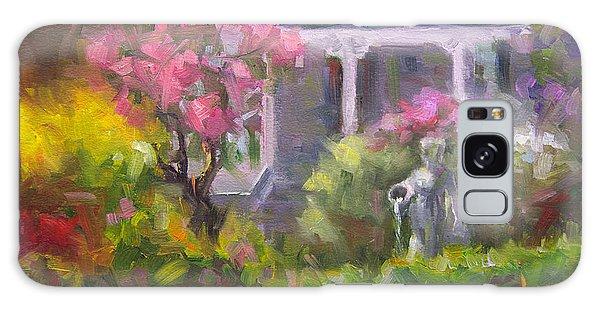 The Guardian - Plein Air Lilac Garden Galaxy Case