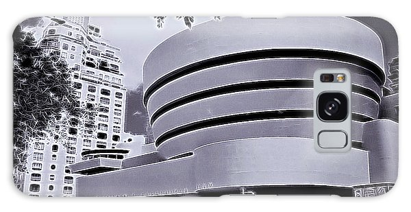The Guggenheim Black And White Galaxy Case