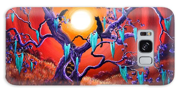 The Halloween Tree Galaxy Case by Laura Iverson