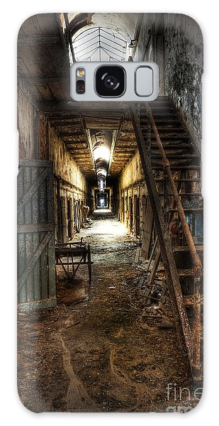 The Hallway Of Broken Dreams - Eastern State Penitentiary - Lee Dos Santos Galaxy Case