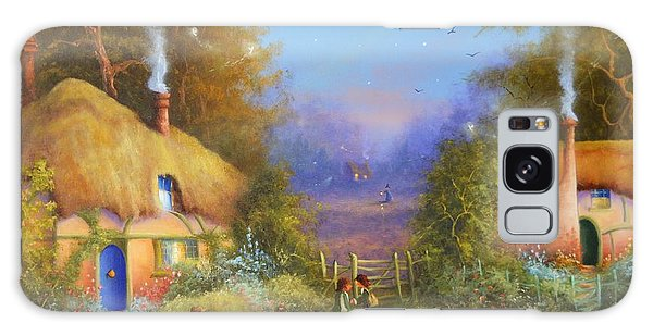 The Hamlet Of Gnarl Mid Summers Eve Galaxy Case