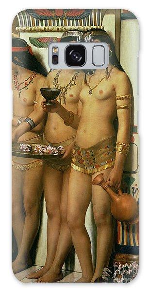 Egypt Galaxy Case - The Handmaidens Of Pharaoh by John Collier