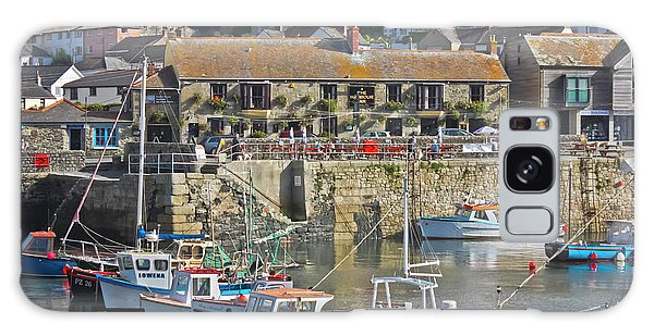 The Harbour Inn Porthleven Galaxy Case