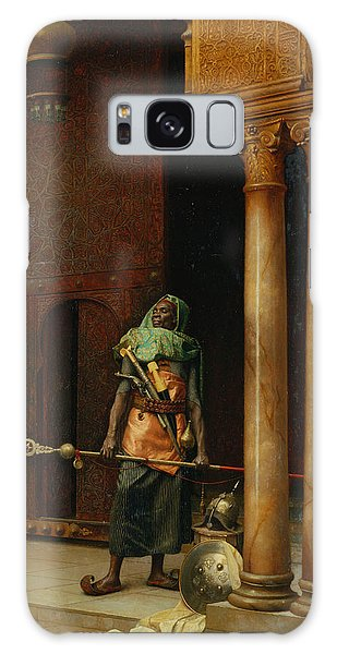 Islam Galaxy Case - The Harem Guard  by Ludwig Deutsch