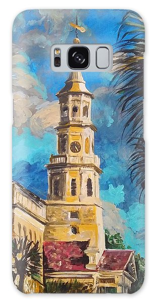 Galaxy Case featuring the painting The Heart Of Charleston by Jennifer Hotai