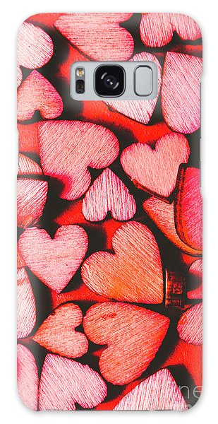 No-one Galaxy Case - The Heart Of Decor by Jorgo Photography - Wall Art Gallery