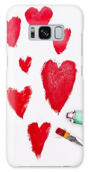 Wall Paper Galaxy Case - The Heart Of Love by Jorgo Photography - Wall Art Gallery