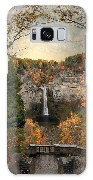 The Heart Of Taughannock Galaxy Case