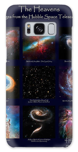 The Heavens - Images From The Hubble Space Telescope Galaxy Case
