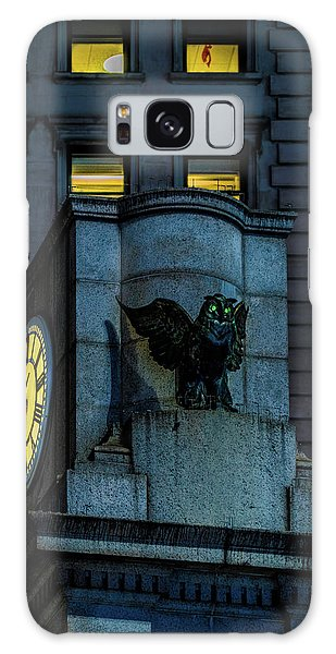 The Herald Square Owl Galaxy Case