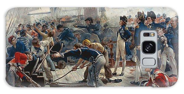 Cannon Galaxy Case - The Hero Of Trafalgar by William Heysham Overend
