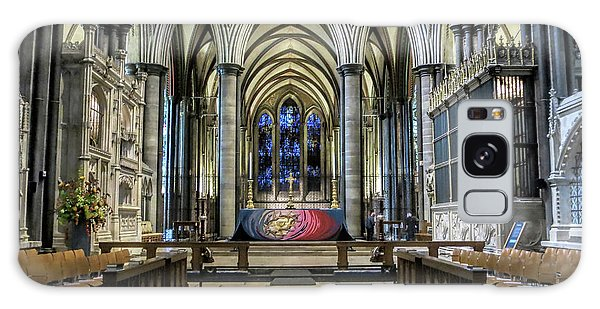 The High Altar In Salisbury Cathedral Galaxy Case
