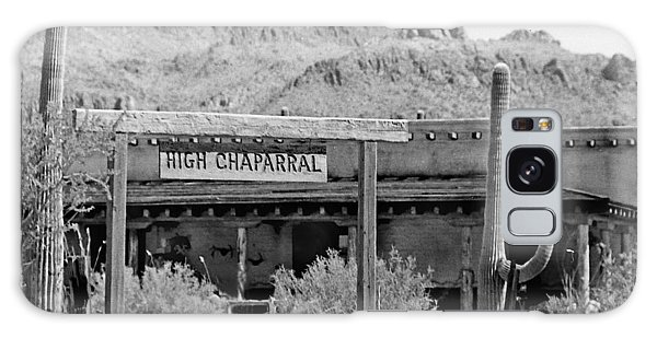 The High Chaparral Set With Sign Old Tucson Arizona 1969-2016 Galaxy Case