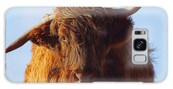 Glen Galaxy Case - The Highland Cow by Smart Aviation