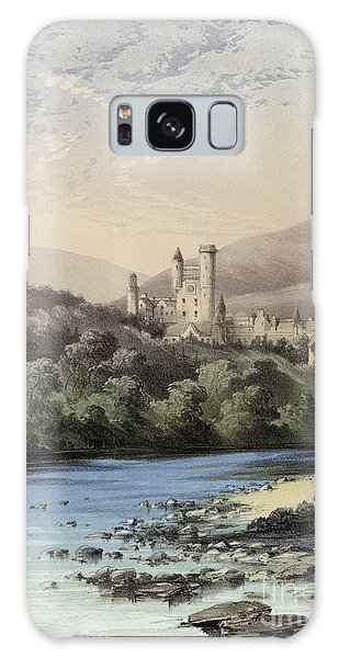 The Highland Home, Balmoral Castle Galaxy Case by English School