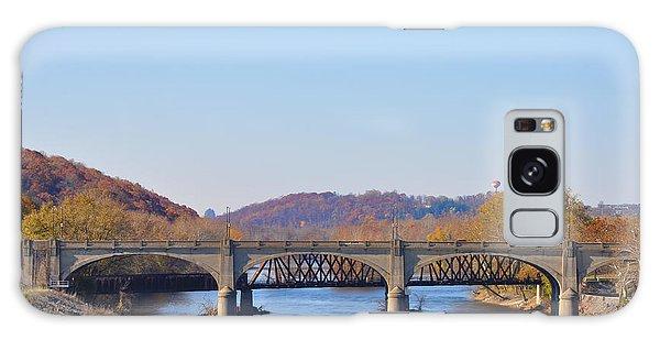 The Hill To Hill Bridge - Bethlehem Pa Galaxy Case