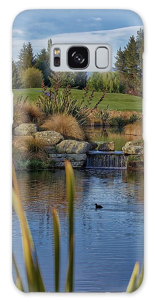The Hills Golf Course Galaxy Case
