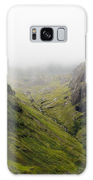 Galaxy Case featuring the photograph The Hills Of Glencoe by Christi Kraft