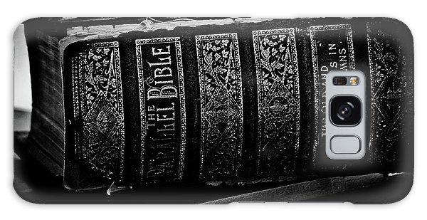 The Holy Bible Galaxy Case by Joann Copeland-Paul