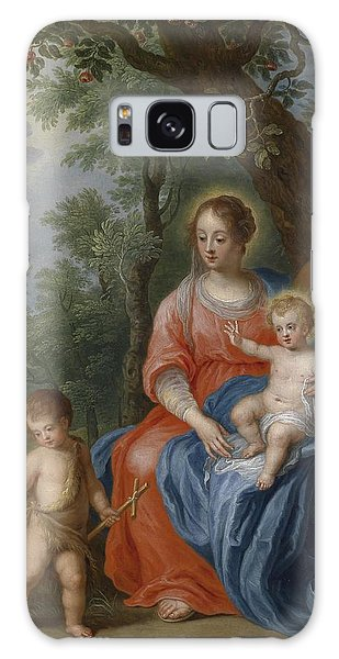 Jan Galaxy Case - The Holy Family With John The Baptist And The Lamb by Jan Brueghel the Younger
