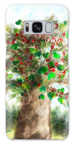 The Holy Oak Tree Galaxy Case