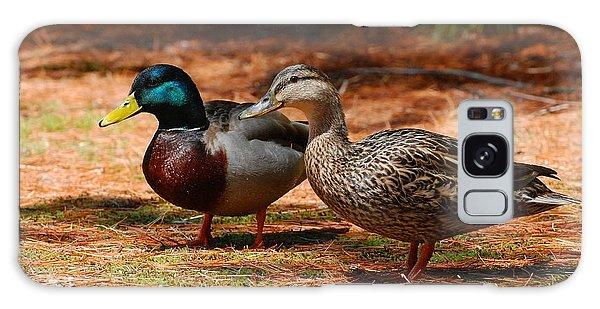 The Honeymooners - Mallard Ducks  Galaxy Case