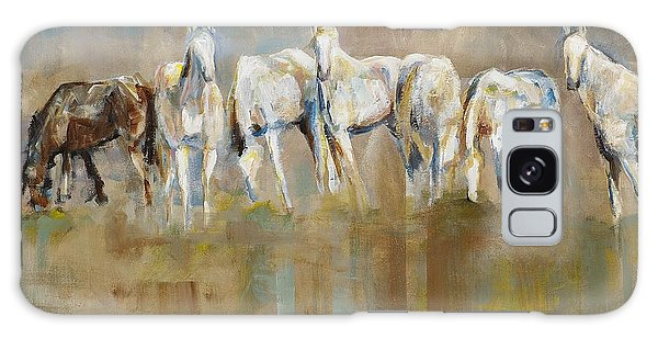 Horse Galaxy Case - The Horizon Line by Frances Marino